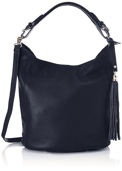 Bags4Less - Zara, Shoppers y bolsos de hombro Mujer, Blau (Dunkelblau),