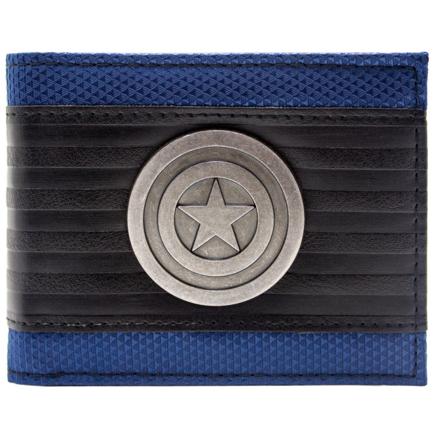 Cartera de Marvel Captain America Símbolo Multicolor 27499