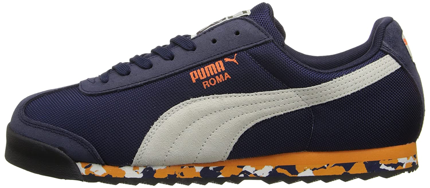 PUMA Men's Roma Rugged Classic Sneaker, Peacoat/Marshmallow/Russet Orange,  11.5 M US: Buy Online at Low Prices in India - Amazon.in