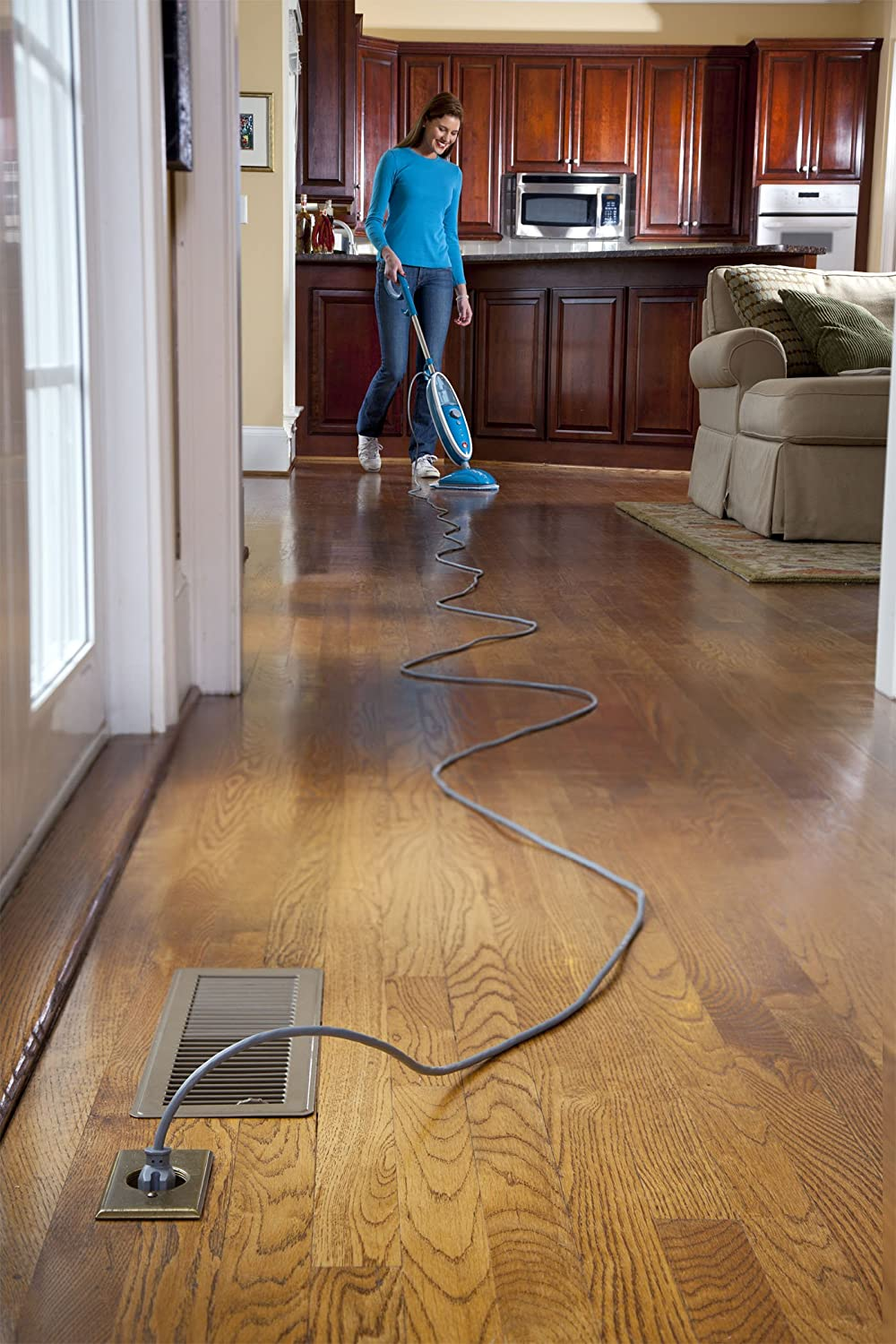 Amazon hoover steam mop twintank steam cleaner wh20200 home amazon hoover steam mop twintank steam cleaner wh20200 home kitchen dailygadgetfo Choice Image