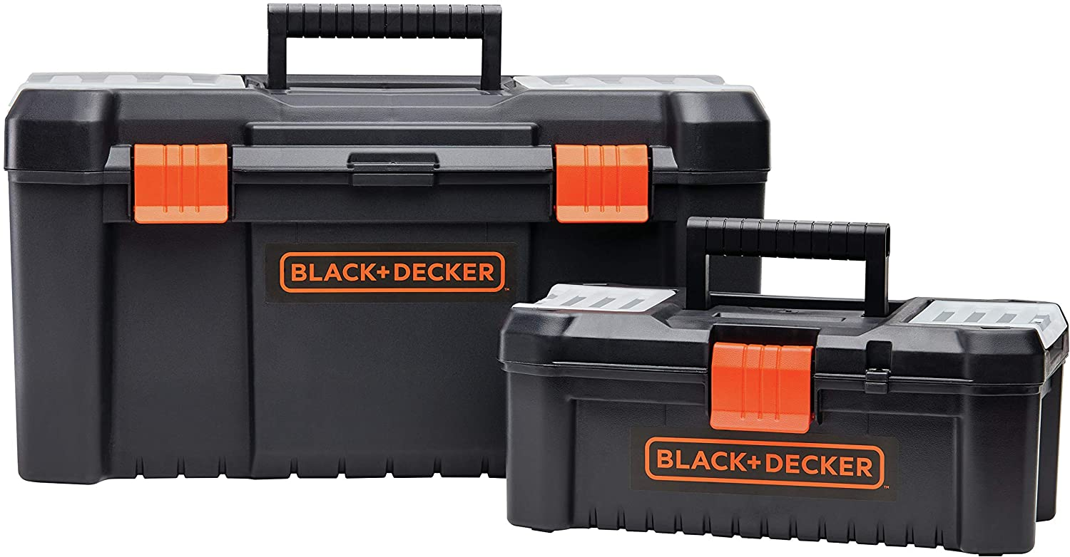 beyond by BLACK+DECKER Tool Box Bundle, 19-Inch & 12-Inch (BDST60129AEV)