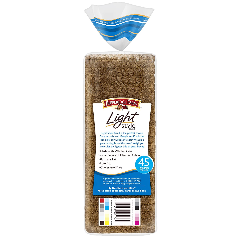 Pepperidge Farm Light Style 100% Whole Wheat Bread, 16 oz. Bag: Amazon.com: Grocery & Gourmet Food