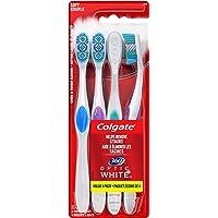 4-Count Colgate 360 Optic White Whitening Toothbrush