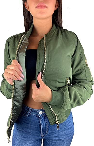 bomber jacken winter damen