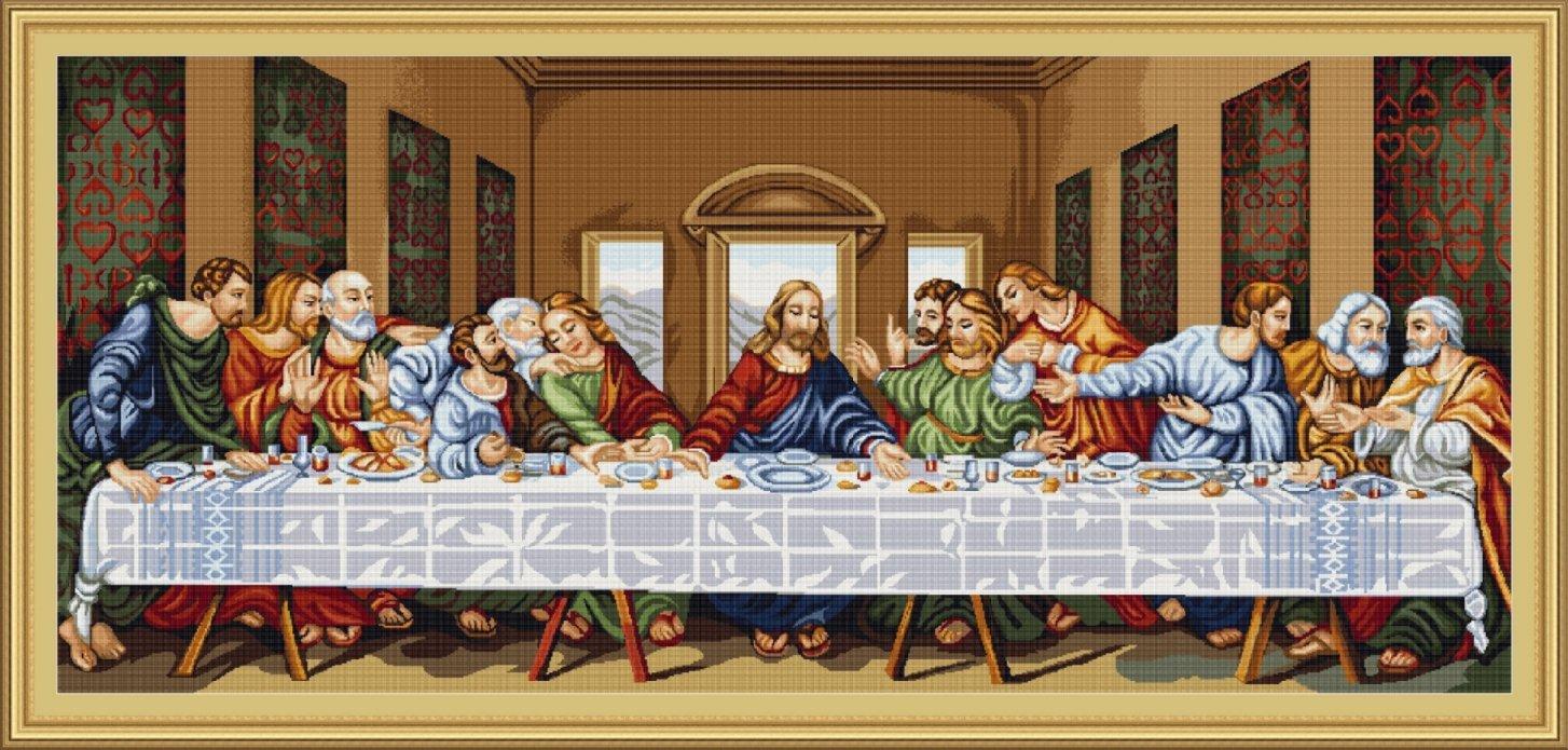 Kit punto croceLultima cena Luca-S