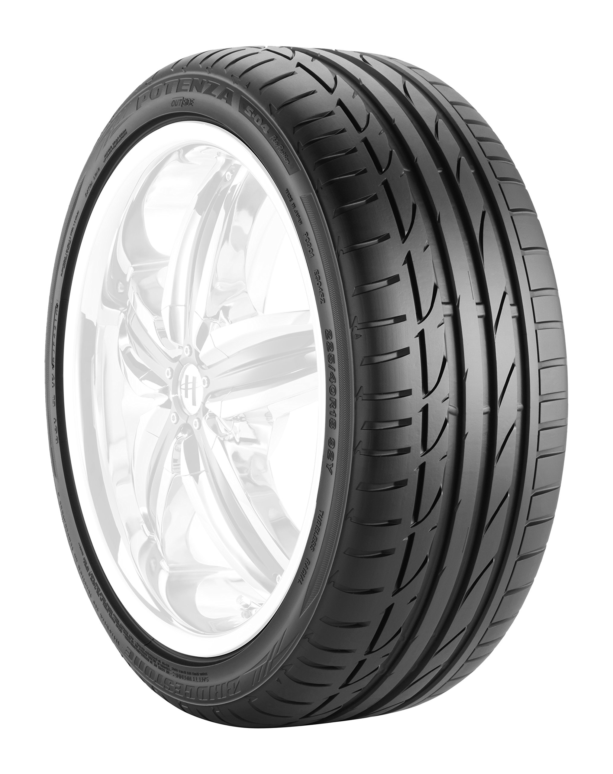 Bridgestone POTENZA S-04 POLE POSITION Performance Radial Tire - 225/50-18 95Y