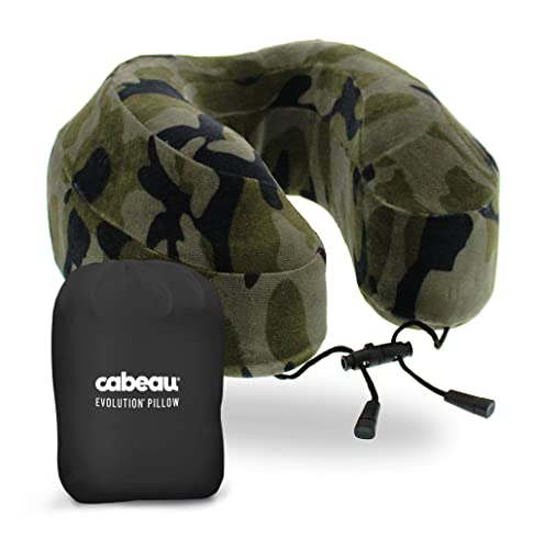 : Cabeau Evolution Memory Foam Travel Pillow - The Best Neck Pillow