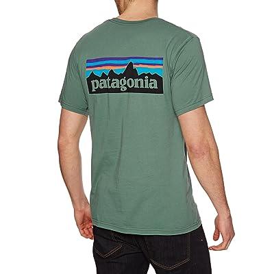 Patagonia P-6Logo Organic T Shirt, Homme
