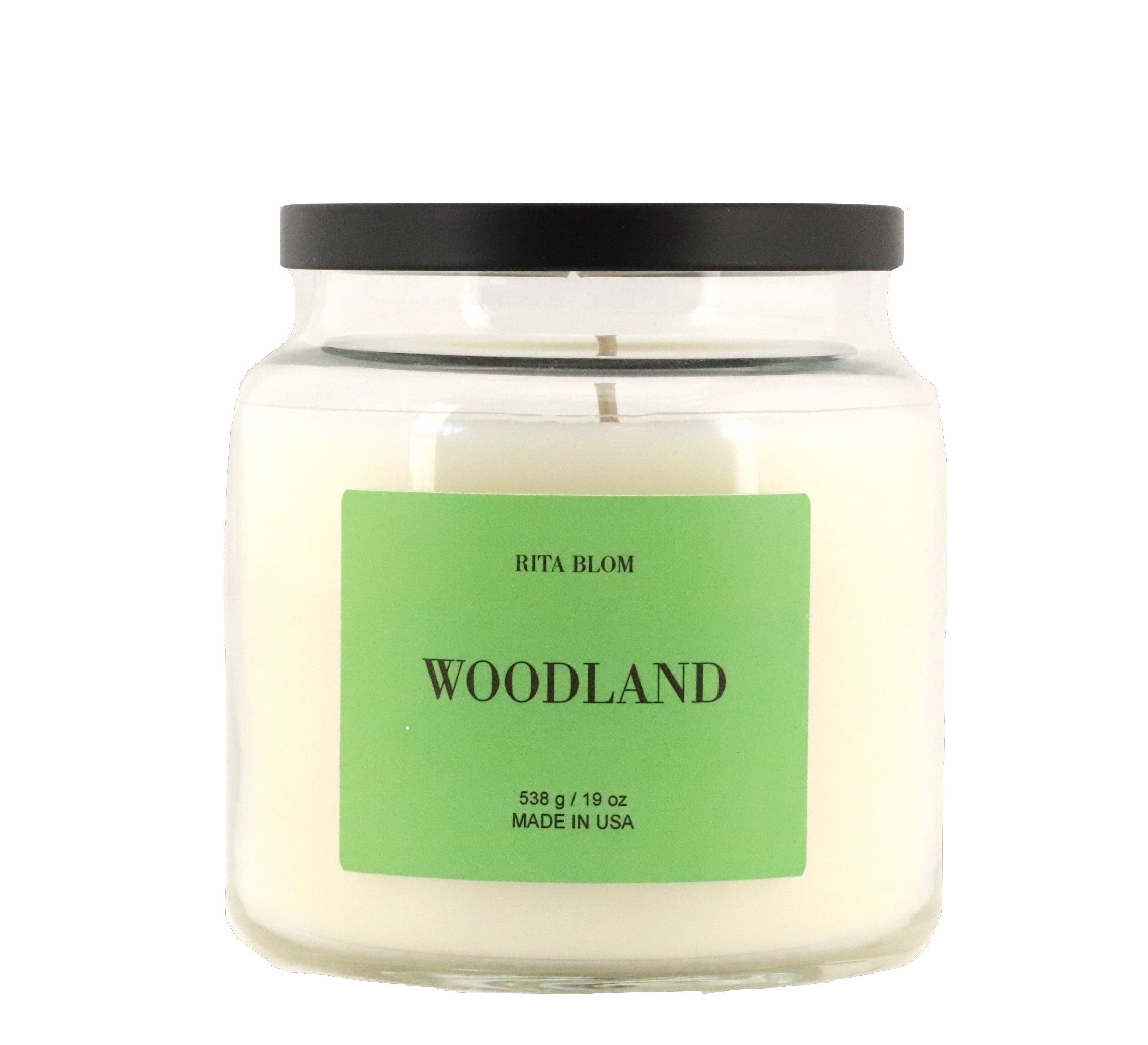 Rita Blom Soy Wax Large Jar Candle Woodland Midnight Woods