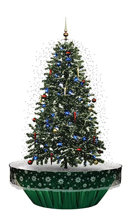 Snowing Christmas Tree.Snowing Christmas Tree 140cm In Holly Green Free Next Day