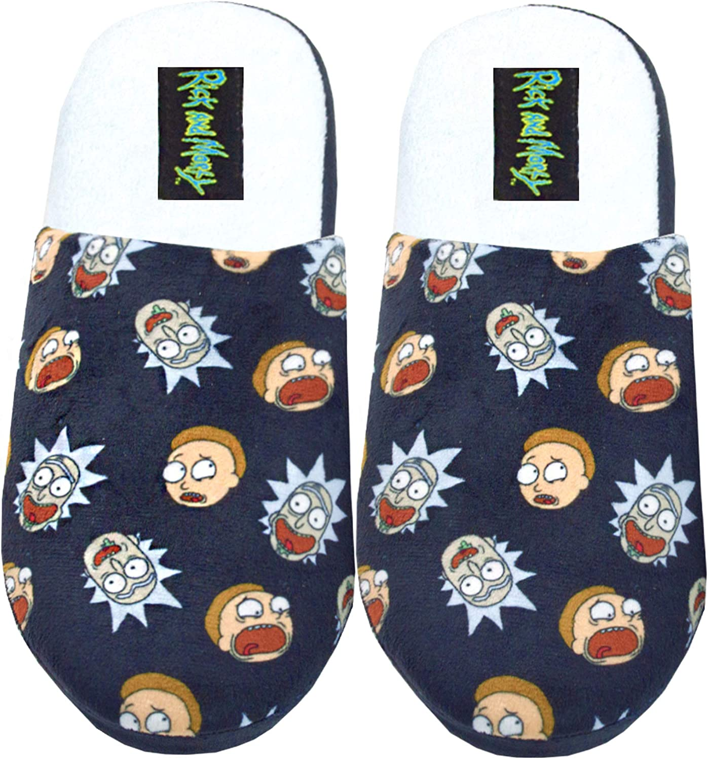 Rick and Morty Character Adults Slippers