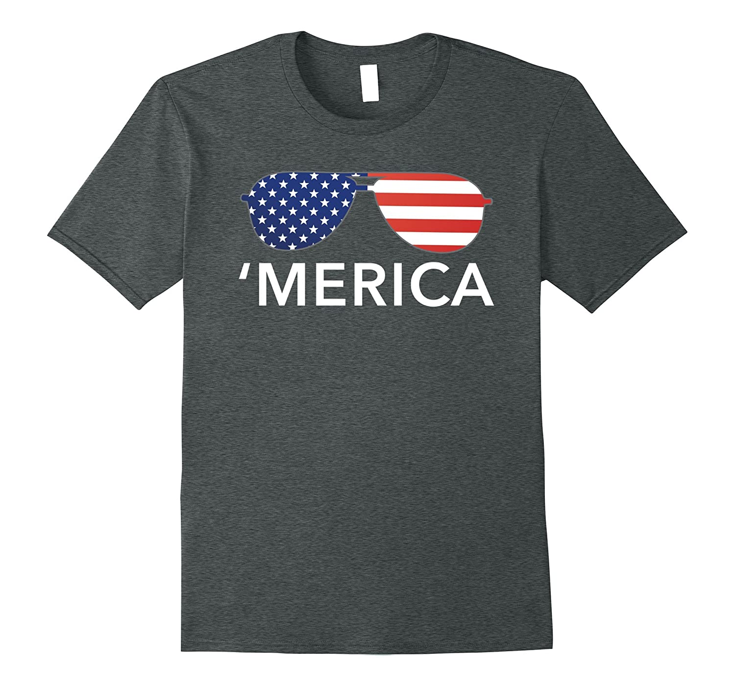 'Merica patriotic Memorial Day USA summer tee shirt-TH
