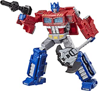 """TRANSFORMERS WFC S11 Optimus Prime Voyager Class 7"""" Action Figure - Generations War for Cybertron Siege - Kids Toys - Ages 8+"""