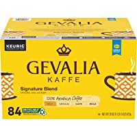 84-Count Gevalia Signature Blend Coffee Mild K-Cup Pods
