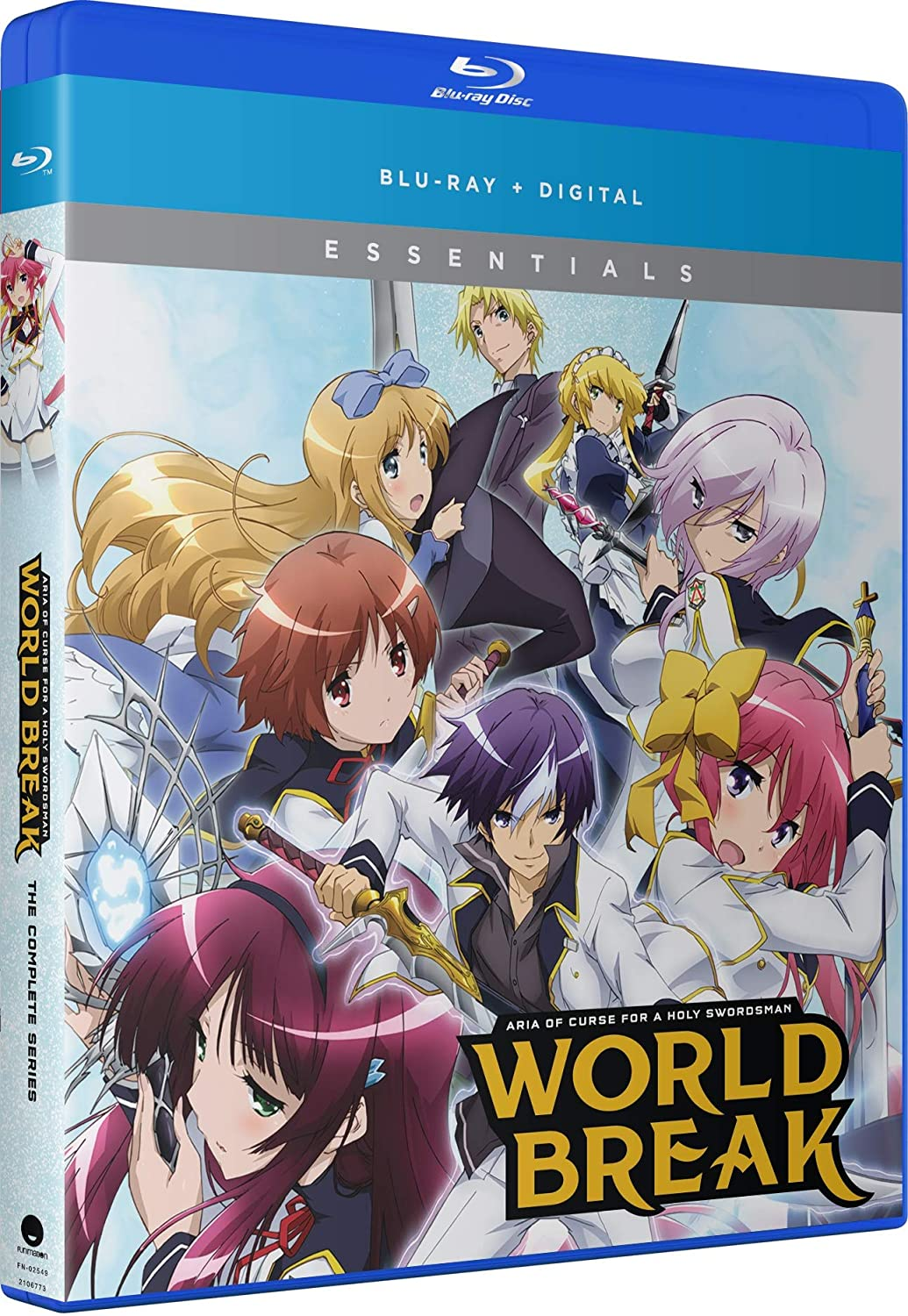 World Break - Aria of Curse for a Holy Swordsman - The Complete Series [Blu-ray]