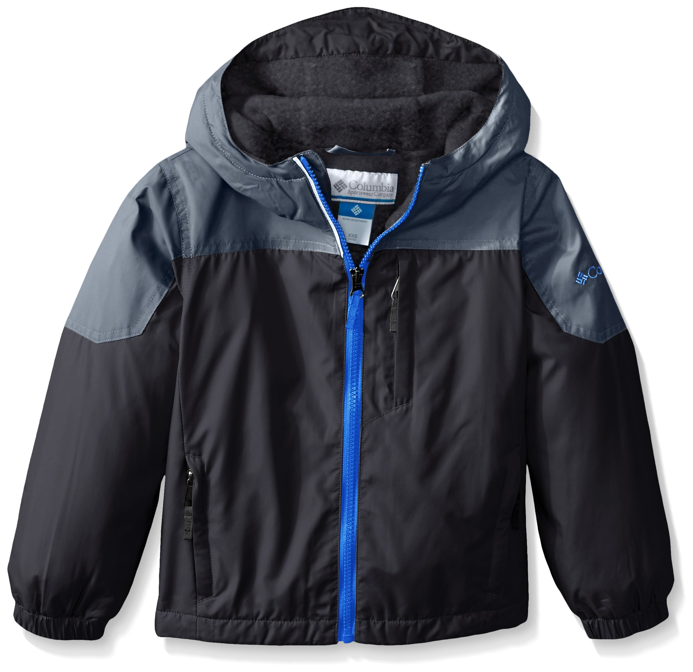 Columbia Little Boys' Ethan Pond Jacket, Black, XX-Small