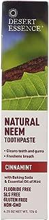 product image for Desert Essence Natural Neem Tootpaste Cinnamint 6.25oz (2 pack)