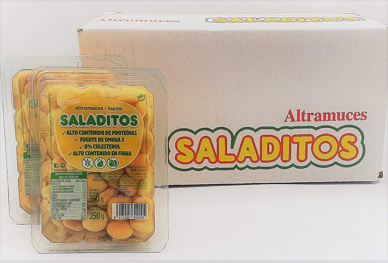 Altramuces Saladitos 10 bandejas de 350 g