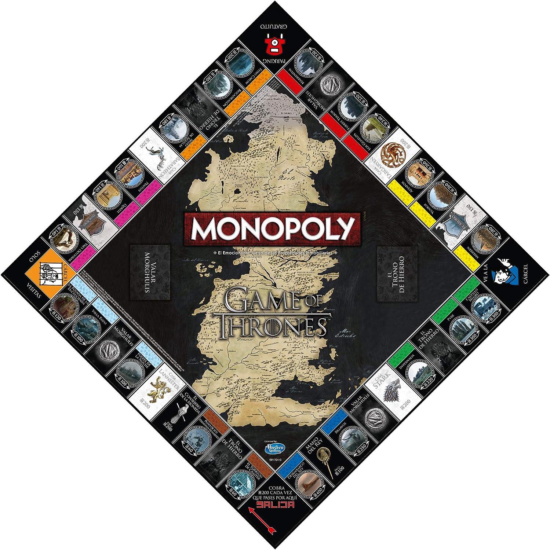 Winning Moves Monopoly Juego De Tronos ista (63447), multicolor ...
