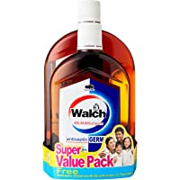 Walch Antiseptic Germicide, Classic, 1L (Pack of 2) + 630ml