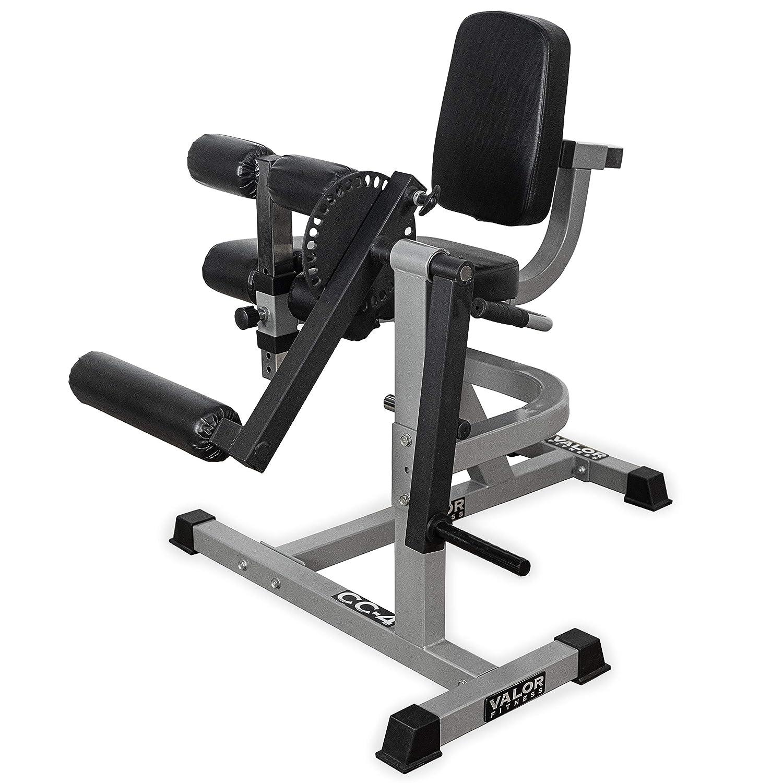 Valor Fitness CC-4 Adjustable Leg Curl Extension Machine