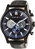 Esprit Herren-Armbanduhr Mathias Chronograph Quarz Leder ES108251002