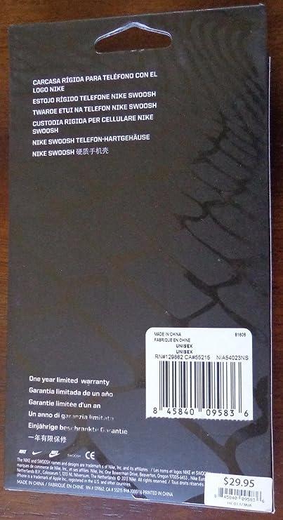 Amazon.com: Nike Swoosh Hard Phone Case (iPhone SE, iPhone 5 ...