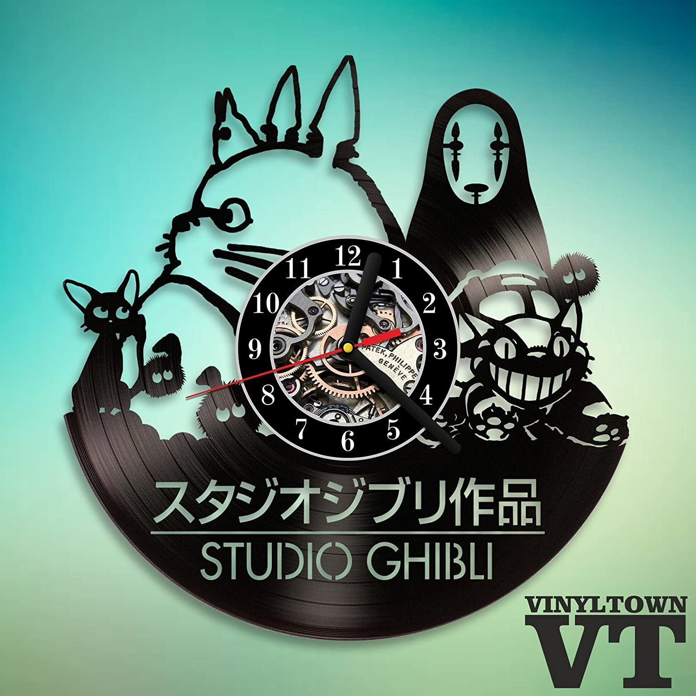 Ninja Turtles Vinyl Wall Clock Record Gift Decor Sing Feast Day Art Woman