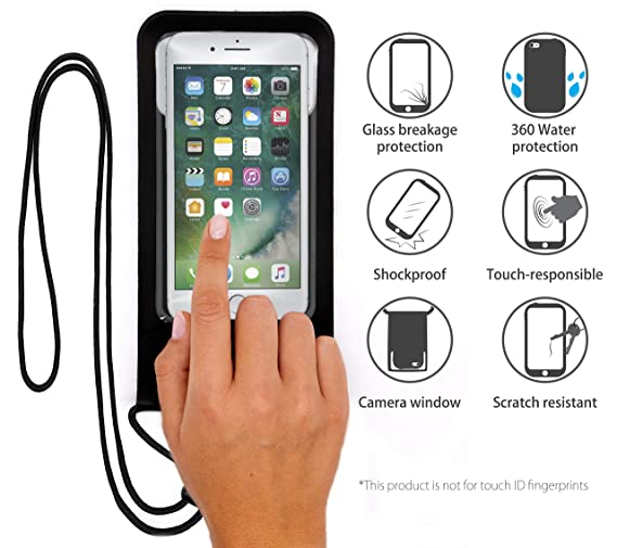 MyGadget 2X Funda Impermeable Universale para Smartphone MAX 6.0 ...