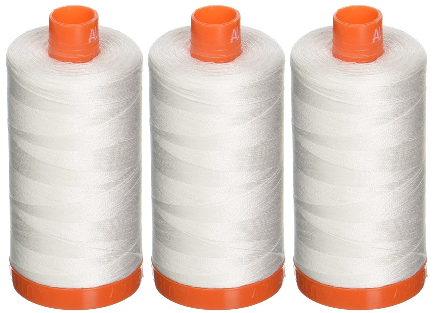 Aurifil Quilting Thread 50wt Natural White, Natural White Notions Marketing NR-6007