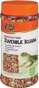 Zilla Reptile Food Juvenile Iguana Fortified, 6.5-Ounce