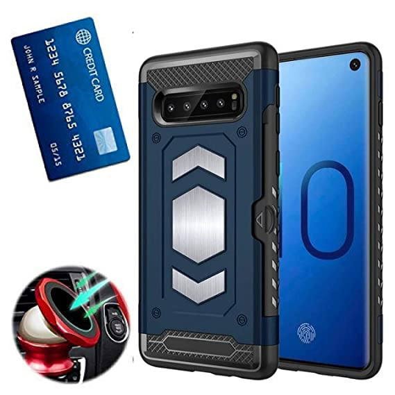5600a84642 Amazon.com: S10 Plus Case with Card Holder : S 10+ Phone Cases with ...