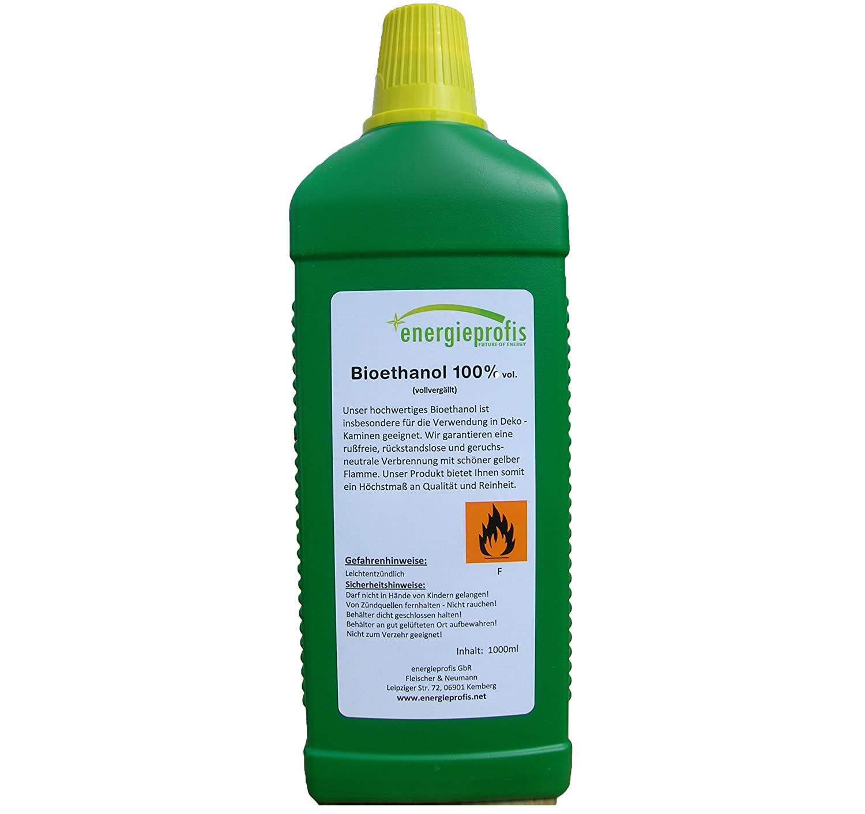 Kamin Alkohol 30 l 30x1l bio alkohol 100 ethanol bioethanol kamin