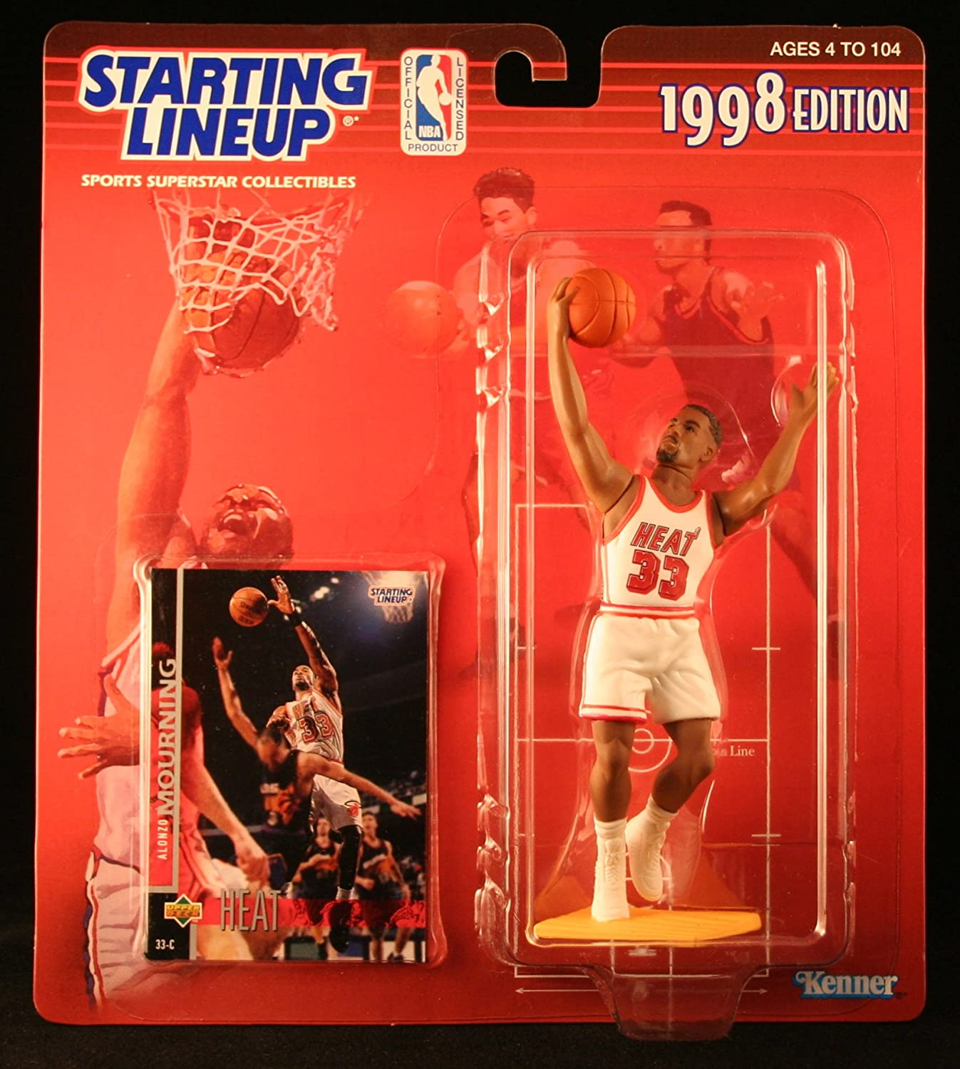 Starting Lineup Alonzo Mourning 1994 action figure