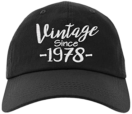 Cap 1978 40th Birthday Gift Vintage Aged To Be Perfected Since Baseball Hat