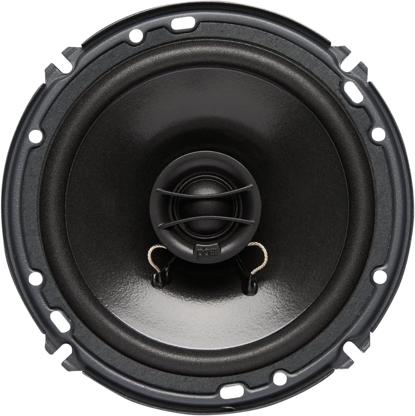 Set of 2 Powerbass S-Series Full Range 4 Ω 6.75 Speaker S6752 ,Black