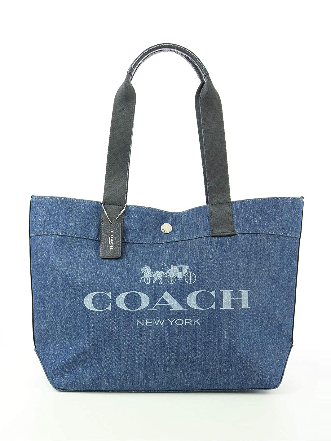 Image result for coach denim tote