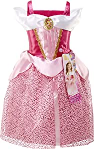 """Disney Princess Aurora Dress Costume, Sing & Shimmer Musical Sparkling Dress, Sing-A-Long to """"Once Upon A Dream"""" Perfect for Party, Halloween Or Pretend Play Dress Up [Amazon Exclusive]"""