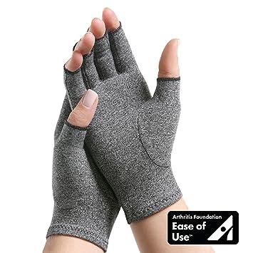 Imak Compression Arthritis Gloves Grey Large