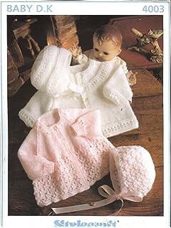 5e261e8599da SIRDAR 3191 KNITTING PATTERN   Baby s matinee coat