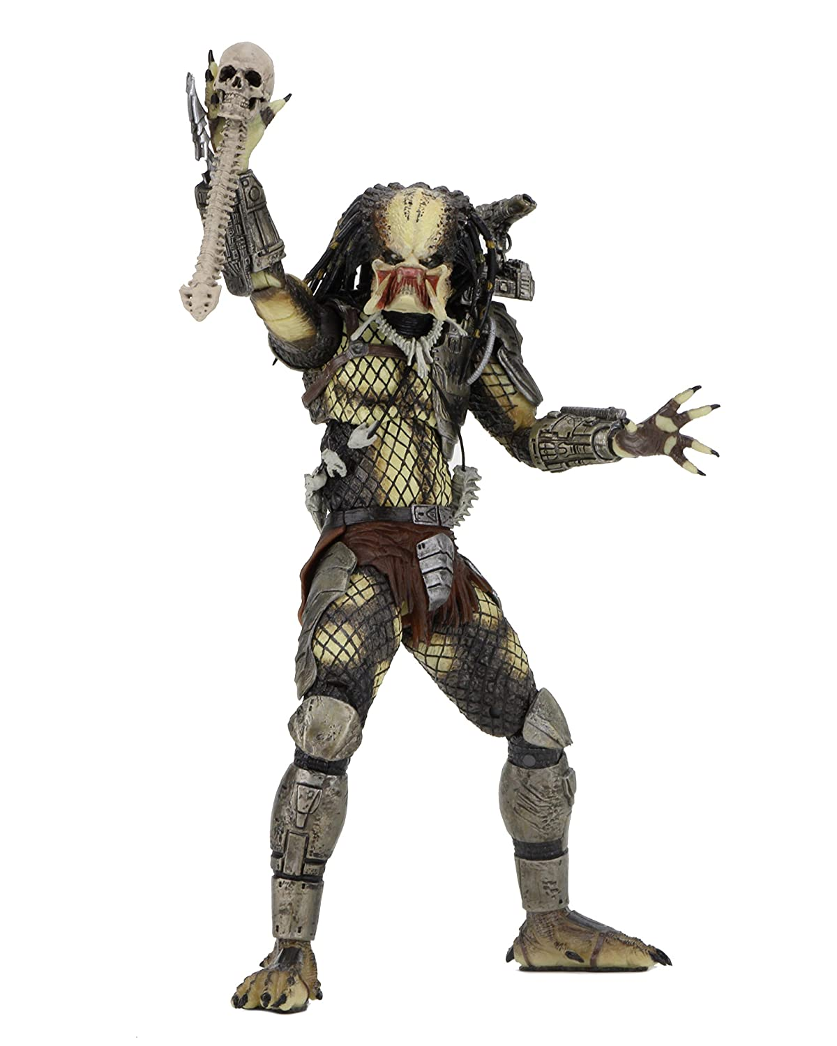"NECA Predator - 7"" scale action figure - 30th anniversary Jungle Hunter Unmasked"