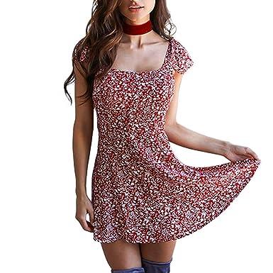 LATH.PIN - Robe - Colonne - Femme - Rouge - M  Amazon.fr  Vêtements ... 6953efe5c9d