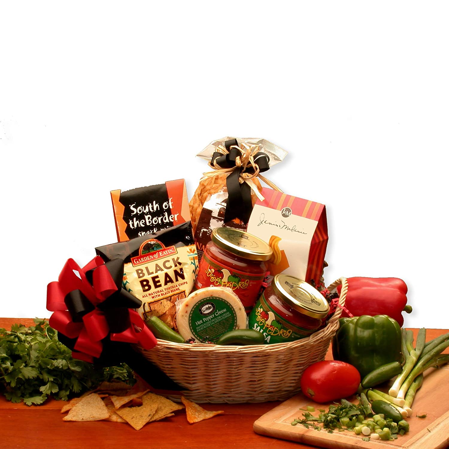 Amazon.com : Snack Gift Lets Spice it up! Salsa Gift Basket : Grocery & Gourmet Food