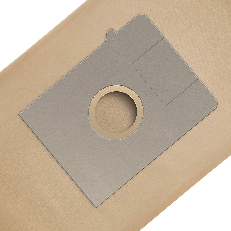 Papel Wessper 15x Bolsas para aspiradora Artec Bosch BSG 1600 Arriva