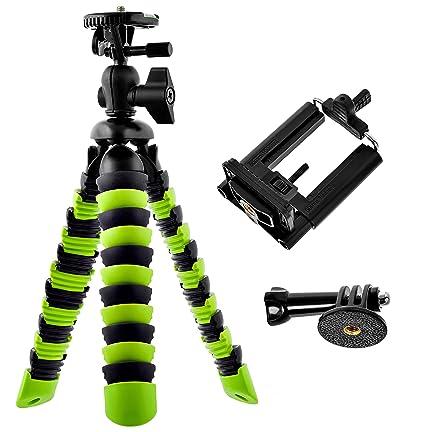 Amazon.com: Bontend Flexible Tripod with Iphone and Smartphone ...
