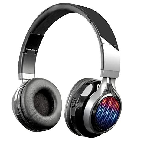 Amazon In Buy Zebronics Disc Bluetooth Headphone Black Online At Low Prices In India Zebronics Reviews Ratings