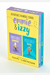 Adventures in Middle School 2-Book Box Set: Invisible Emmie and Positively Izzy (Emmie & Friends) Paperback