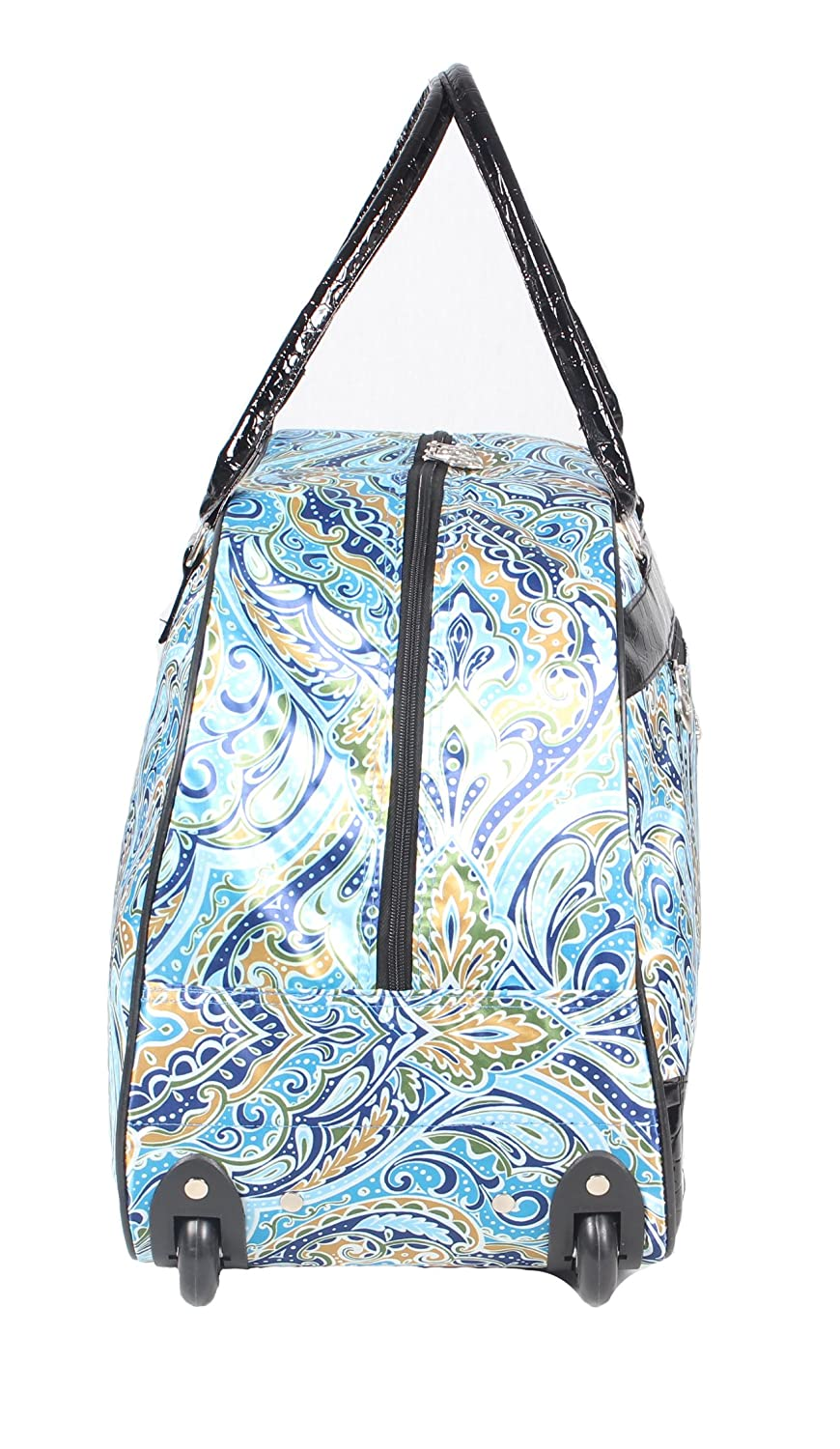 Kathy Van Zeeland Womens 22 Inch Printed Rolling Carry-On  (One Size ... b91a079a41fad