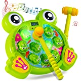 Play22 Whack A Frog Game - Interactive Whack A Frog Game for Toddler, Learning, Active, Early Developmental Toy, Fun…