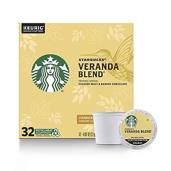 Starbucks Blonde Roast Veranda Flavor K-Cup